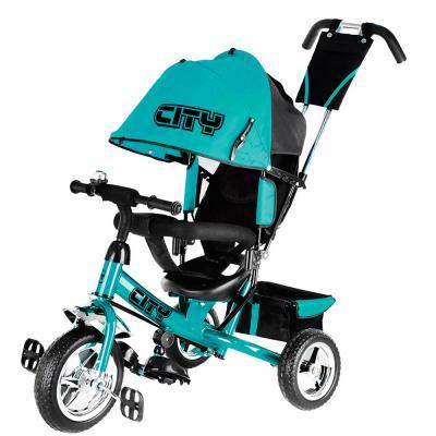 Велосипед-коляска CITY City JD7 10/8 бирюзовый цена