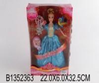 Кукла Барби Кукла в голубом платье 29 см