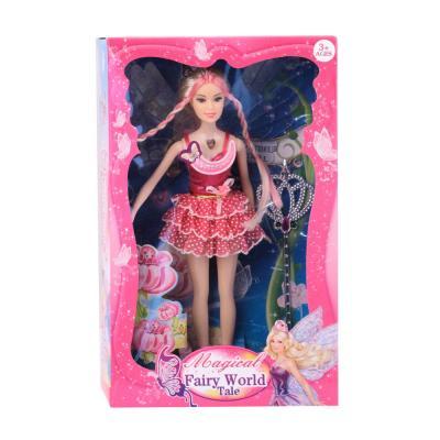Кукла Барби Кукла в розовом платье 29 см светящаяся