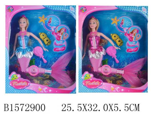 Кукла Барби Русалочка джинсовки барби