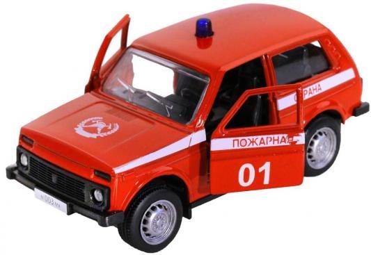 Купить Машина Автопанорама Пожарная охрана красный, Игрушечные машинки