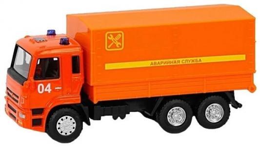 """цены на ТМ """"Автопанорама"""" Машинка металлическая """"Аварийная служба"""", 1:54, цвет оранжевый, инерция, в/к 16,5*6,4*9 см  в интернет-магазинах"""