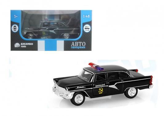 Полицейская машина Автопанорама Милиция черный