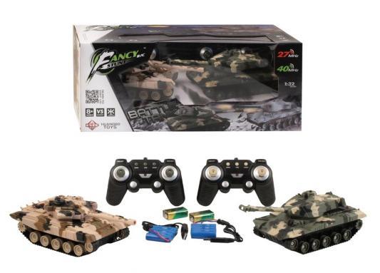 Танковый бой на радиоуправлении HB 666 Танковый бой пластик от 8 лет хаки набор танков на радиоуправлении abtoys танковый бой 552 масштаб 1 64 2 шт