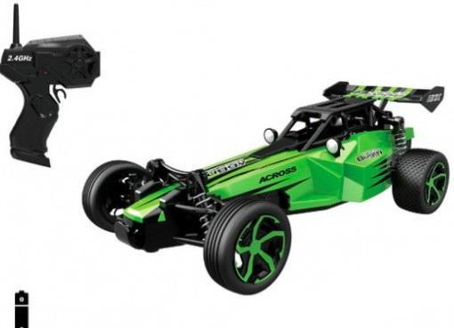 Купить 1:24 2.4G Р/У Багги (14 км/ч), с зарядкой, 4 каналов: вперед/назад, повороты, профессиональный ПУ, в/к 27, 5*7, 8*23, 5 см, HB 666, зелёный, Радиоуправляемые игрушки