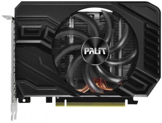 Видеокарта Palit GeForce GTX 1660 StormX PCI-E 6144Mb GDDR5 192 Bit Retail (NE51660018J9-165F) pci e to