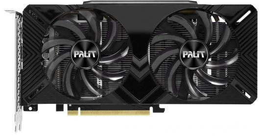 Видеокарта Palit GeForce GTX 1660 Ti Dual PCI-E 6144Mb GDDR6 192 Bit Retail (NE6166T018J9-1160A) видеокарта palit geforce gtx 1660 ti dual oc 1500mhz pci e 3 0 6144mb 12000mhz 192 bit dvi hdmi dp ne6166ts18j9 1160a
