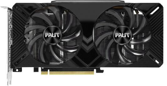 Видеокарта Palit GeForce GTX 1660 Ti DUAL OC PCI-E 6144Mb GDDR6 192 Bit Retail (NE6166TS18J9-1160A) видеокарта palit geforce gtx 1660 ti dual oc 1500mhz pci e 3 0 6144mb 12000mhz 192 bit dvi hdmi dp ne6166ts18j9 1160a