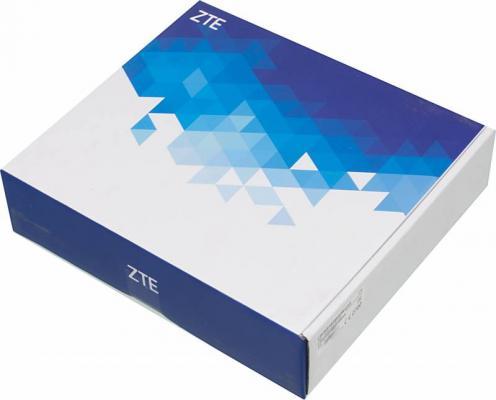 Фото - Беспроводной маршрутизатор ZTE MF283 802.11n 300Mbps 2.4 ГГц 4xLAN белый zte mf79 белый