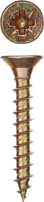 Саморезы СУ-Ж универсальные, 45 х 6.0 мм, 150 шт, желтый цинк, ЗУБР цена
