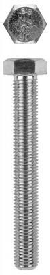 Болт с шестигранной головкой, DIN 933, M10x30мм, 100шт, кл. пр. 8.8, оцинкованный, KRAFTOOL болт с шестигранной головкой din 933 m20x80мм 10шт кл пр 8 8 оцинкованный kraftool