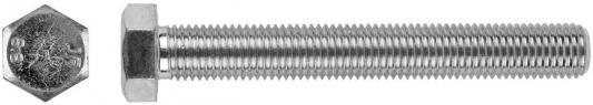 Болт с шестигранной головкой, DIN 933, M12x30мм, 100шт, кл. пр. 8.8, оцинкованный, KRAFTOOL болт с шестигранной головкой din 933 m20x80мм 10шт кл пр 8 8 оцинкованный kraftool