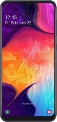 Смартфон Samsung Galaxy A50 128 Гб черный смартфон samsung galaxy j6 32 гб серый