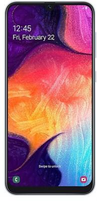 Смартфон Samsung Galaxy A50 64 Гб белый (SM-A505FZWUSER) смартфон samsung galaxy note 9 512 гб медный sm n960fznhser