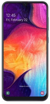 Смартфон Samsung Galaxy A50 64 Гб черный (SM-A505FZKUSER) смартфон samsung galaxy j1 2016 8 гб черный sm j120fzkdser