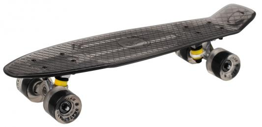 "Скейтборд  прозрачный, размер 22"",*6"",, колеса: 60*45мм  78А, PU, ABEC-7"