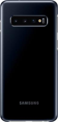 Чехол (клип-кейс) Samsung для Samsung Galaxy S10 LED Cover черный (EF-KG973CBEGRU)