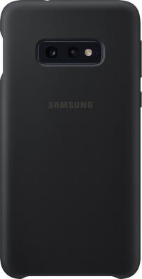 Чехол (клип-кейс) Samsung для Samsung Galaxy S10e Silicone Cover черный (EF-PG970TBEGRU) чехол клип кейс samsung для samsung galaxy s9 silicone cover черный ef pg960tbegru