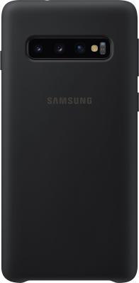Чехол (клип-кейс) Samsung для Samsung Galaxy S10 Silicone Cover черный (EF-PG973TBEGRU) клип кейс samsung silicone для samsung galaxy s10 plus [ef pg975tbegru] черный
