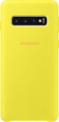 Чехол (клип-кейс) Samsung для Samsung Galaxy S10 Silicone Cover желтый (EF-PG973TYEGRU) клип кейс samsung silicone для samsung galaxy s10 plus [ef pg975tbegru] черный