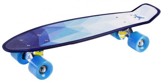 "Скейтборд "",Зенит"",, дека: PP с принтом, размер 22"",*6"",, колеса: 60*45мм  78А, PU, ABEC-7"