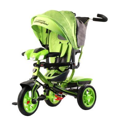 Купить Велосипед Lamborghini Трёхколёсный 12*/10* зеленый, Детские трехколесные велосипеды