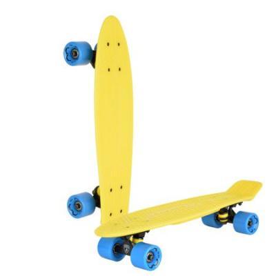 """Скейтборд """"Lamborghini"""" 22*6 дюйма, колеса: PU 60*45мм, цвет: желтый цена и фото"""
