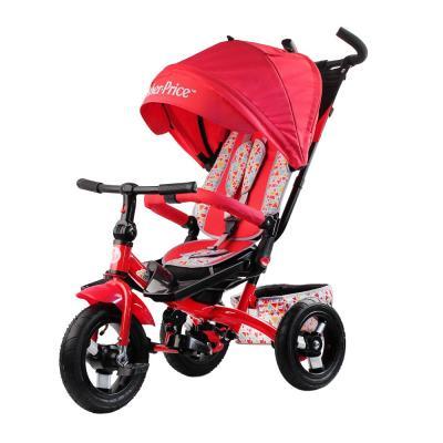 Купить Велосипед Fisher Price HF9 12*/10* красный, Детские трехколесные велосипеды