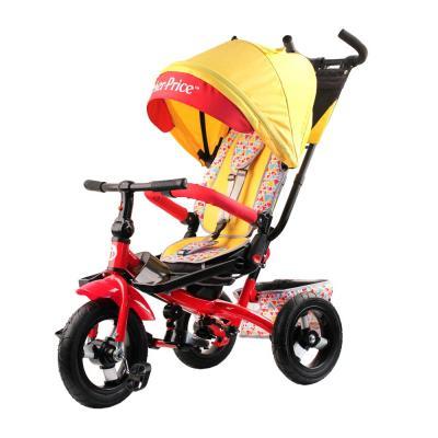 Купить Велосипед Fisher Price HF9 12*/10* желтый, Детские трехколесные велосипеды