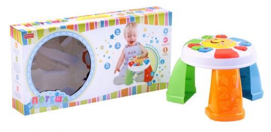 Купить Интерактивная игрушка ПОТЕША Столик от 1 года, разноцветный, пластик, унисекс, Игрушки со звуком