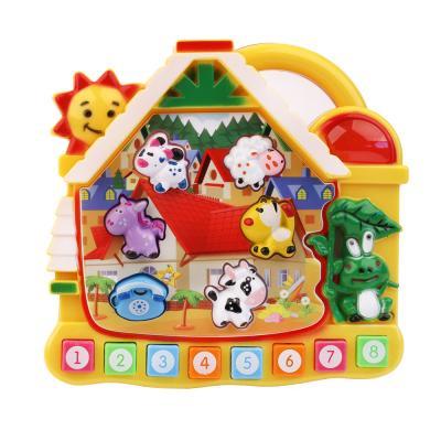 Купить Интерактивная игрушка ПОТЕША, разноцветный, пластик, унисекс, Игрушки со звуком