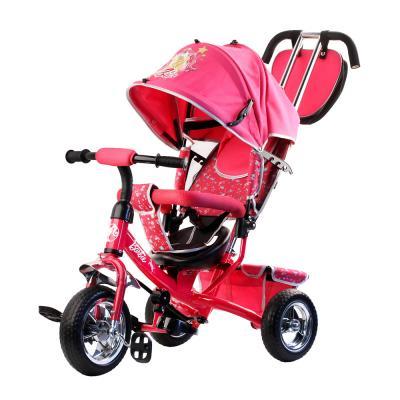 Велосипед-коляска Barbie (Mattel) 10/8 розовый коляска mattel barbie игра с малышом fxg94