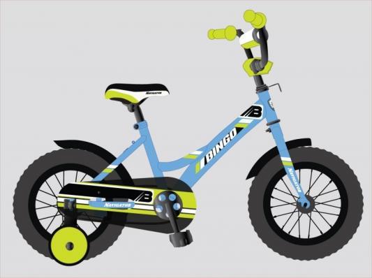 """Велосипед Navigator BINGO 12"""", голубой-зеленый"""