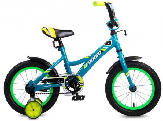 """Велосипед Navigator Bingo 14"""" голубой ВМ14191 цены"""