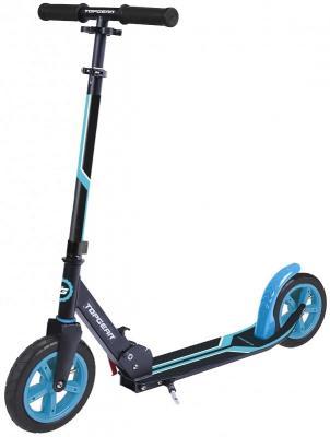 Самокат Top Gear Cross 200 мм сине-черный самокат top gear eco viii 200 мм голубой
