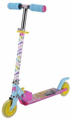 Самокат Barbie (Mattel) Т11400Н 120 мм разноцветный