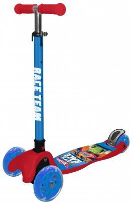 Самокат Hot Wheels (Mattel) Т14761 120/80 мм разноцветный цена