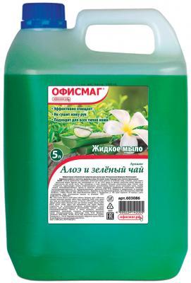Фото - Мыло жидкое ОФИСМАГ Алоэ и зеленый чай 5 л жидкое мыло iprovenziali зеленый чай