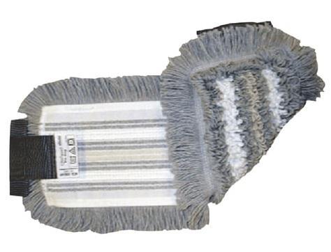 Насадка МОП плоская для швабры/держателя 40 см, уши (УВ), полиэстер/волокно/вискоза, VILEDA УльтраСпидТрио+, 515730 насадка моп кентукки для швабры ленточная хлопок полиэстер длина лент 40 см 400 г vileda 100776