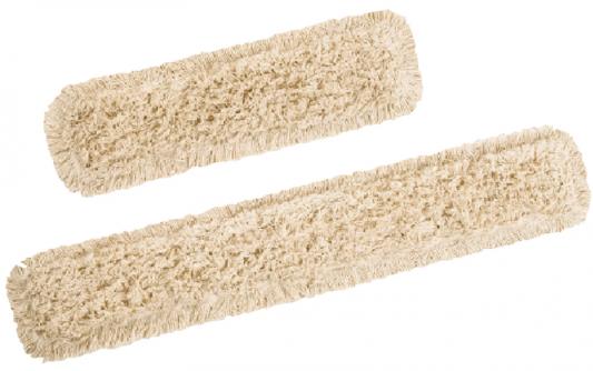 Насадка МОП плоская 100 см для швабры-рамки, карманы, хлопок, VILEDA ДастМоп, 118104 насадка для паровой швабры vileda стим