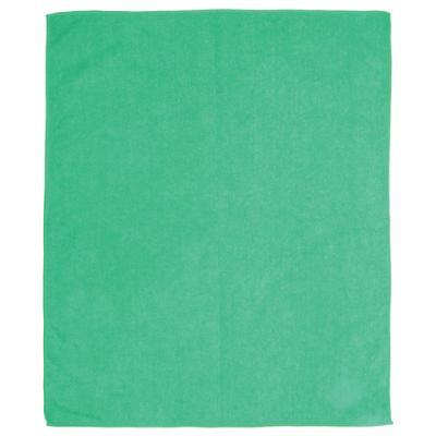 Тряпка для мытья пола, плотная микрофибра, 50х60 см, зеленая, ЛАЙМА, 601251 тряпка aqualine для мытья пола 1шт 50х60 см