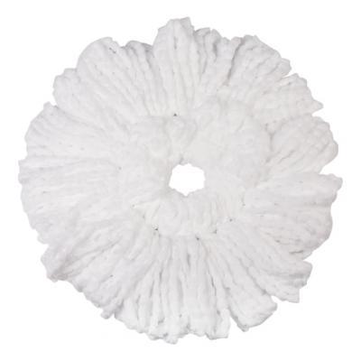 Фото - Насадка МОП круглая для швабры из набора для уборки, крепление - кольцо, микрофибра, d - 16 см, ЛАЙМА, 603626 насадка моп для швабры самоотжимной скручивающейся 603600 микрофибра 30см лайма 603601