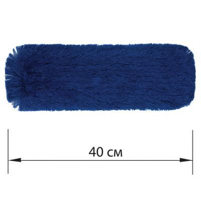 Фото - Насадка МОП плоская 40 см для швабры-рамки, К (карманы), сухая уборка, акрил, ЛАЙМА EXPERT насадка моп для швабры самоотжимной скручивающейся 603600 микрофибра 30см лайма 603601