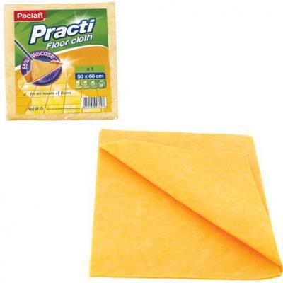 Тряпка для мытья пола PACLAN Practi, вискоза, 50х60 см, 163427 paclan practi universal губки для посуды 5 шт