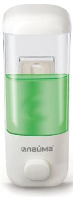 Диспенсер для жидкого мыла ЛАЙМА, наливной, 0,5 л, ABS-пластик, белый, 601792 диспенсер для жидкого мыла лайма professional 0 38 л