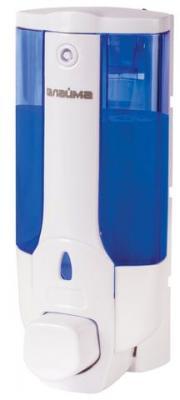 Диспенсер для жидкого мыла ЛАЙМА, наливной, 0,38 л, ABS-пластик, белый (тонированный), 603921 диспенсер для жидкого мыла лайма professional 0 38 л