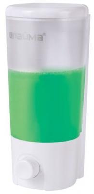 Диспенсер для жидкого мыла ЛАЙМА, наливной, 0,38 л, ABS-пластик, белый (матовый), 603922 диспенсер для жидкого мыла лайма professional 0 38 л