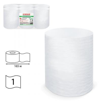 Салфетки бумажные Лайма классик 1-слойные 6 шт