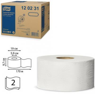 туалетная бумага tork advanced 120231 12 рул Бумага туалетная Tork Advanced 2-ух слойная 12 шт