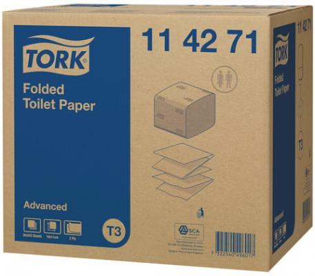туалетная бумага tork advanced 120231 12 рул Бумага туалетная Tork Advanced 2-ух слойная 36 шт